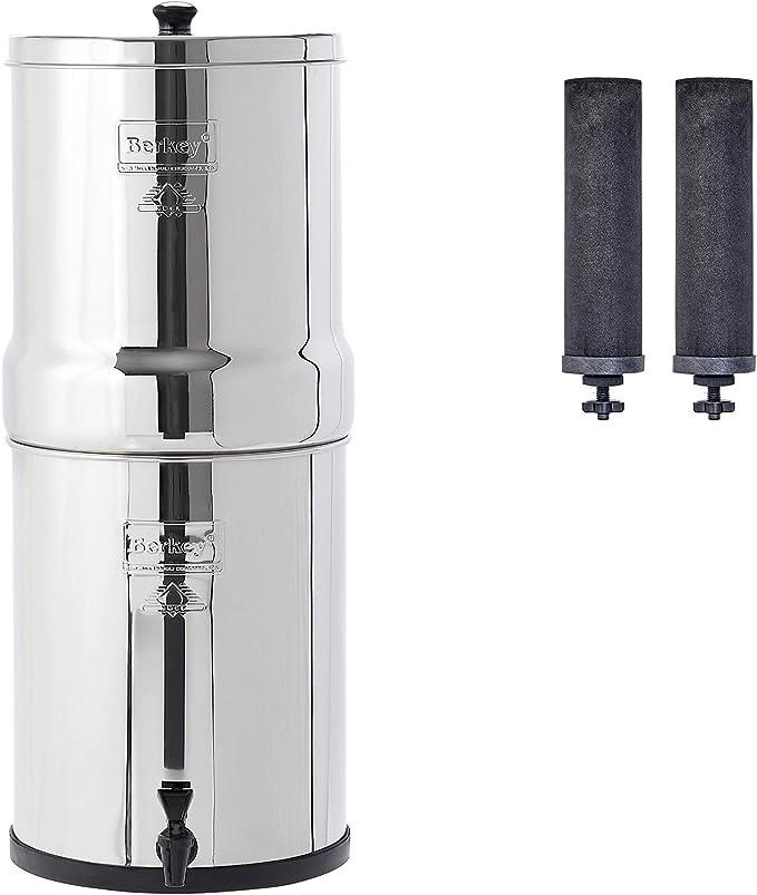 Royal Berkey purificadores de agua filtro + 2 Negro Elementos ...