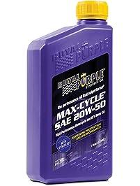 Royal Purple 1316 Motorcycle Oil Max SAE 20W50 (0.95l/1qt), 1 (Non-Carb Compliant)