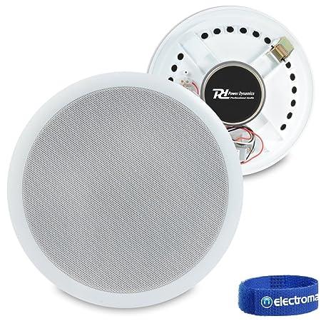 TechSol TSS12/Pack of 4/Black Universal Speaker Wall Bracket 3D Sound