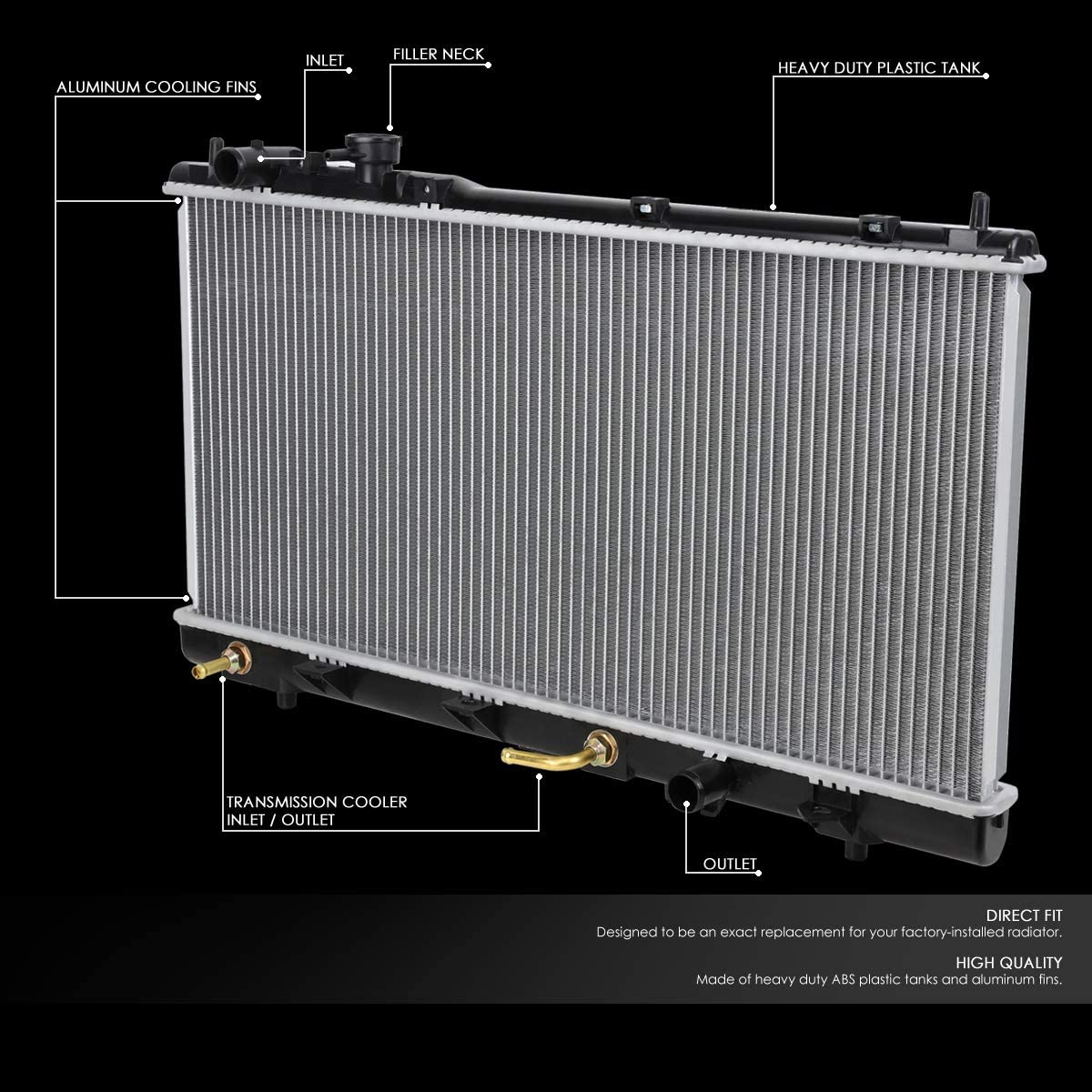 BuyAutoParts 60-30760 New A//C AC Accumulator Receiver Drier For Mazda B2000 /& B2600