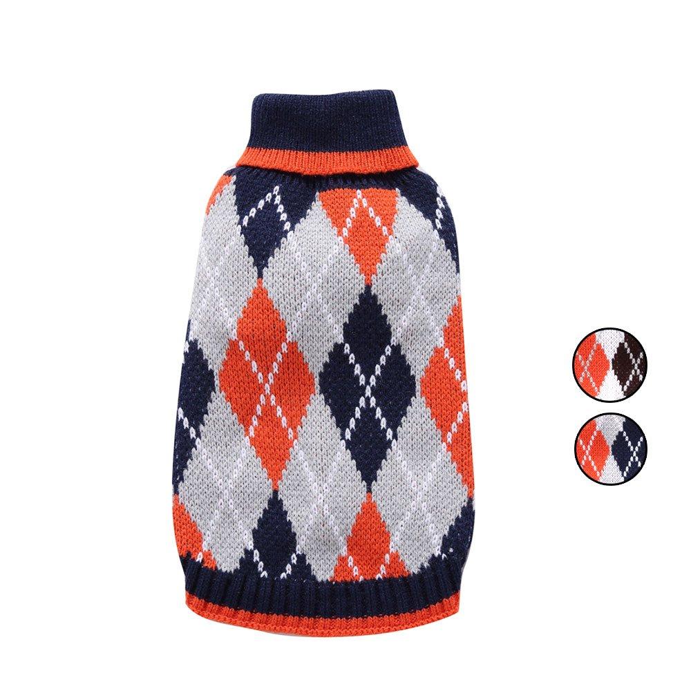 2 patrones de suéter de punto de Argyle, Holiday Nordic Fair Isle ...