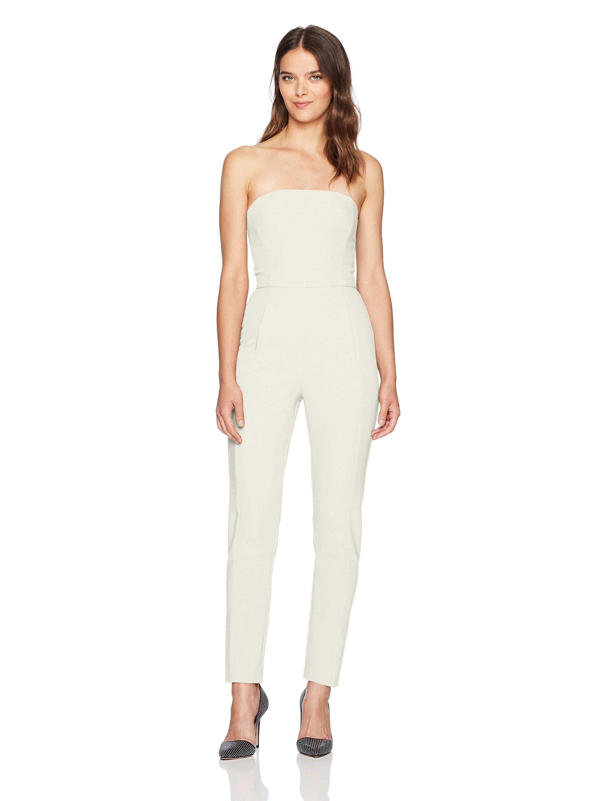 Black Halo Women's Iris Jumpsuit, Porcelain, 8
