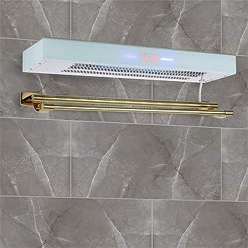 Homeure Inteligente Radiador Toalleros Electrico con Termostato Radiadores Pared Baño Secador Toallas,B