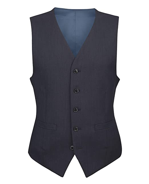 T.M.Lewin Men/'s Waistcoat Lancaster for Everyday Wear Lightweight