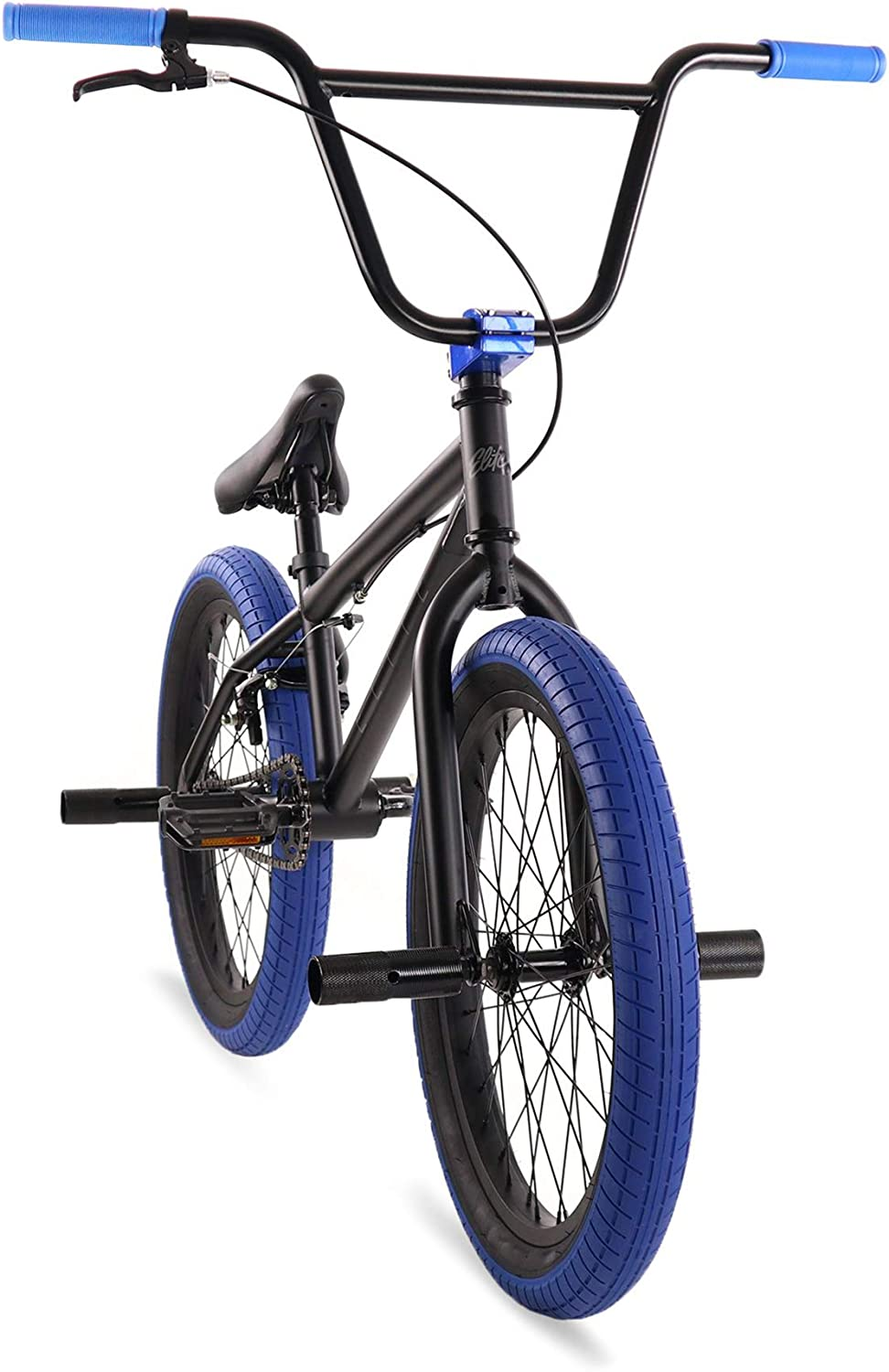 "Elite 20"" BMX Bicycle The Stealth Freestyle Bike"