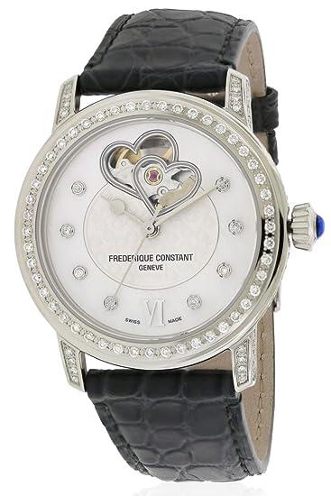 FREDERIQUE Constant Reloj DE Mujer AUTOMÁTICO 34MM FC-310DHB2PPV6: Frederique Constant: Amazon.es: Relojes