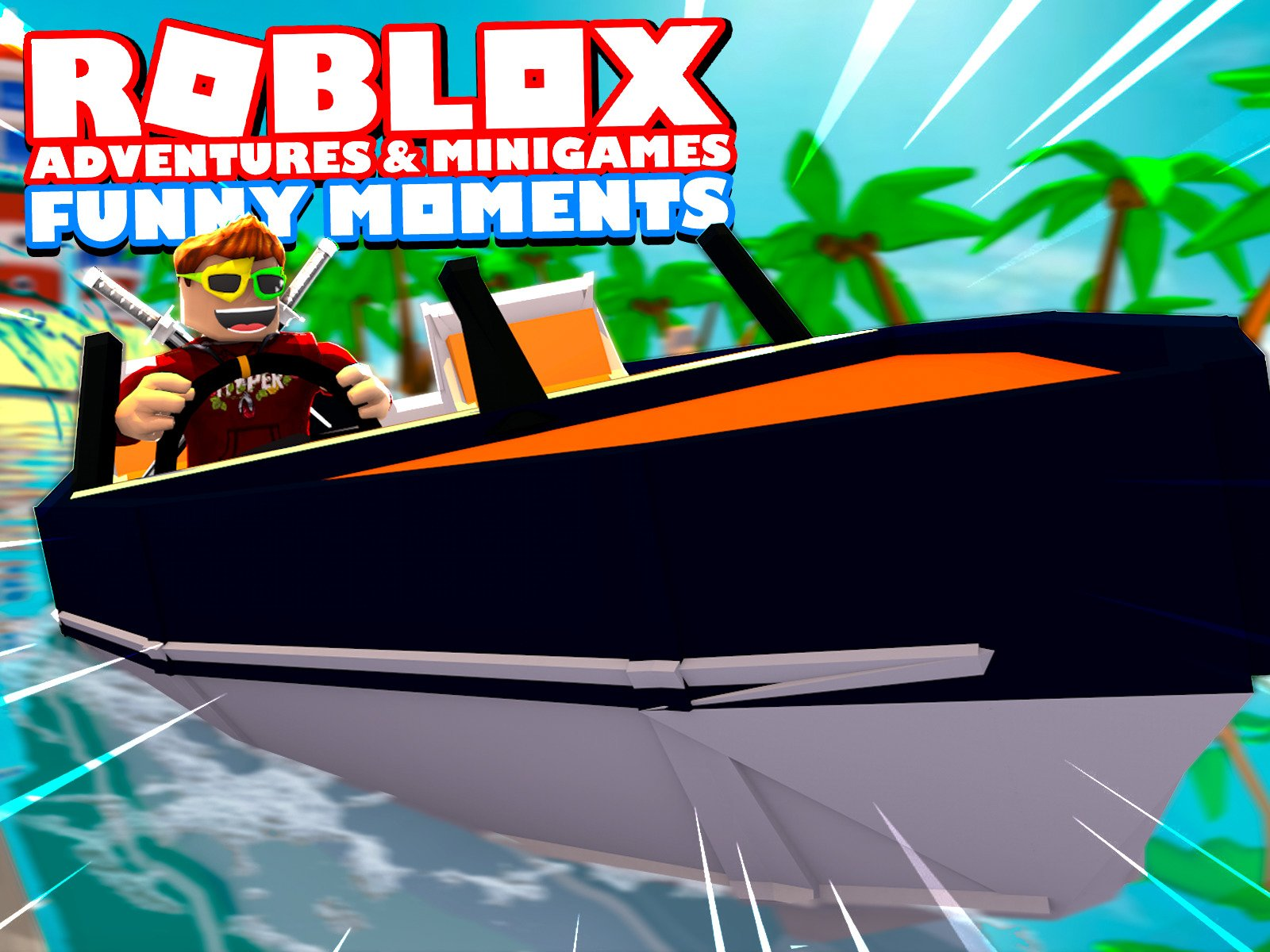 Roblox Adventures & Minigames (Funny Moments) on Amazon Prime Video UK