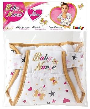 Smoby - 220309 - Baby Nurse - Sac Porte Bébé - Sangle Réglable ... ea31d0963c4