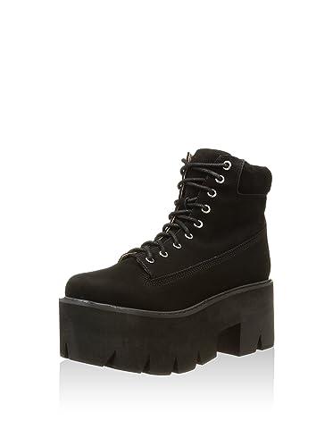 Jeffrey Campbell Nirvana Chuncky Platform Boots Black Size: 6