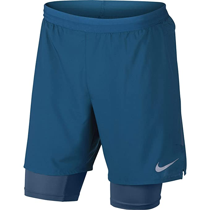 1e5d37bc4aa60 Amazon.com: Nike Men's Flex Stride 2-in-1 Running Shorts 7In Green ...