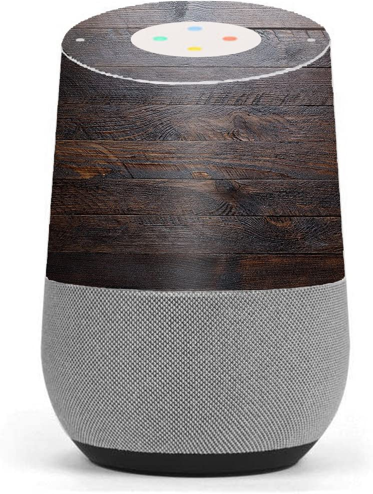 Skin Decal Vinyl Wrap for Google Home stickers skins cover/ Wooden wall pattern