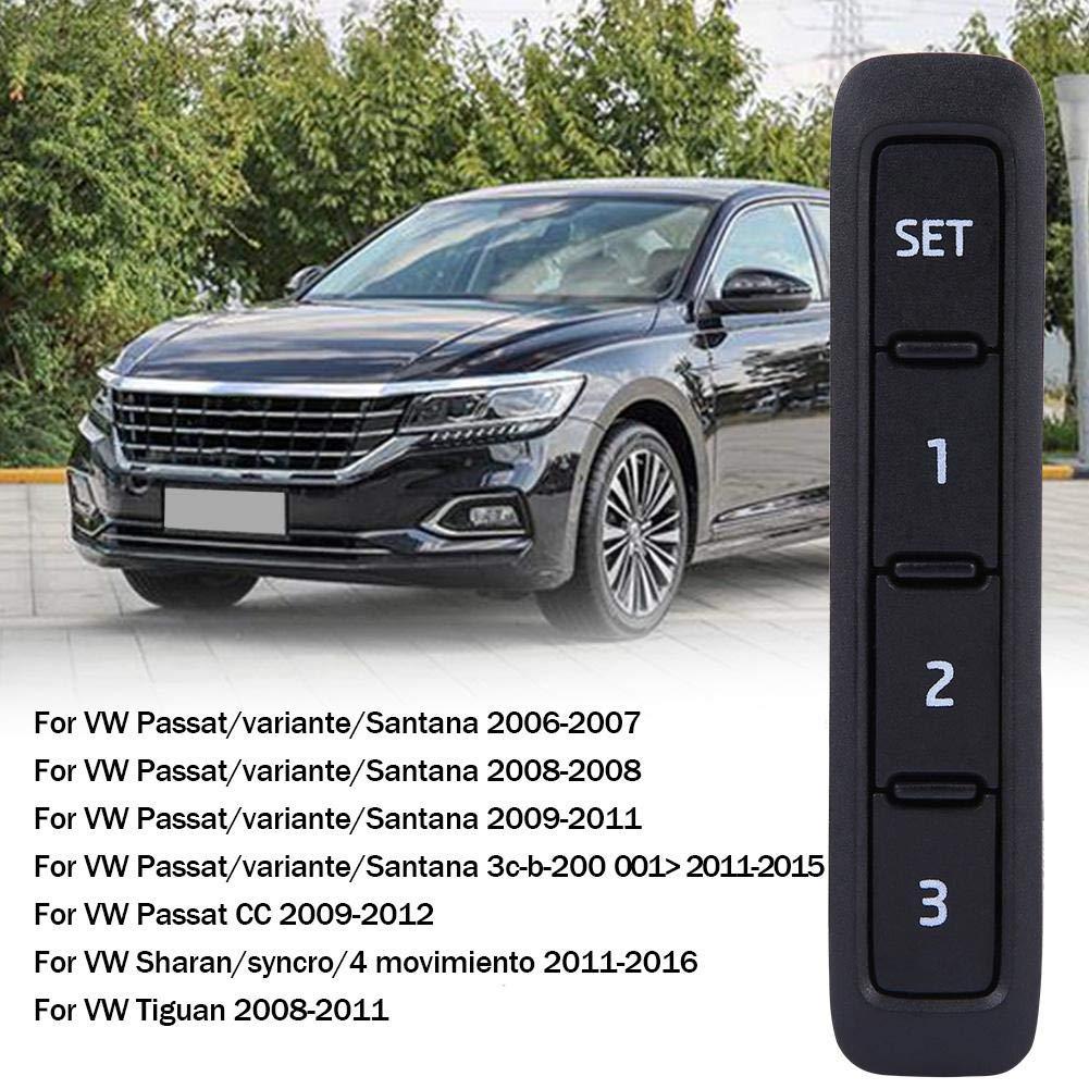ELEKTRISCHER FENSTERHEBER SCHALTER KNOPF FÜR VW PASSAT 36/_ SHARAN 7N *NEU*