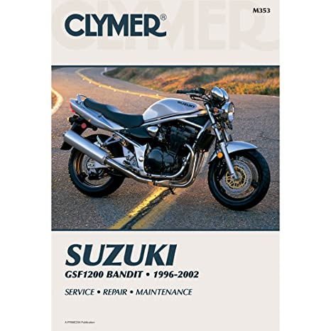 amazon com clymer repair manual for suzuki gsf1200 1200 bandit 96 rh amazon com Suzuki Bandit Series Suzuki Bandit Series