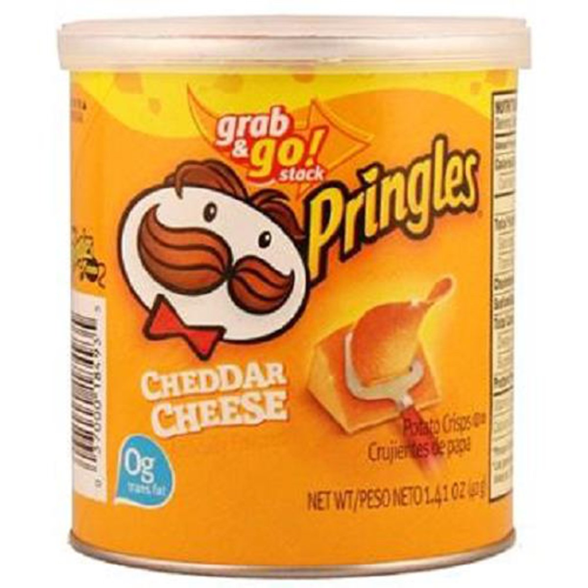 Product Of Pringles, Cheddar Cheese - Small, Count 1 - Chips / Grab Varieties & Flavors