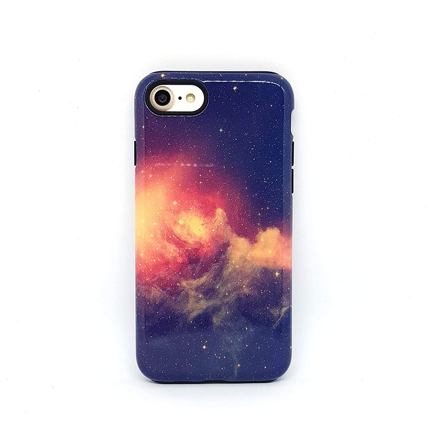 Spazio Nebulosa cover case custodia per iPhone 5, 5s, 6, 6s, 7, 7 plus, 8, 8 plus, X, XS, per Galaxy S6, S7, S8