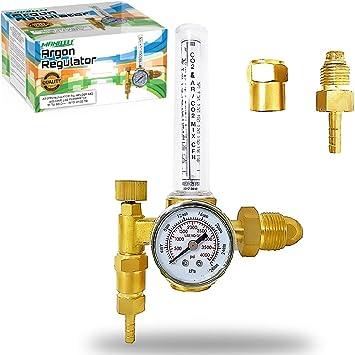 Argon CO2 Oxygen  Gas Tig Mig Flow Meter Welding Regulator Welder Gauge CGA580