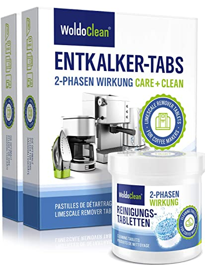 2 Phase Cleaning Tablets For Fully Automatic Coffee Machines 31x Pieces Of 35 G 2 Phasen Reinigungsset