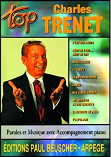 Amazon Fr Grands Interpretes Piano Chant Guitare Charles Trenet