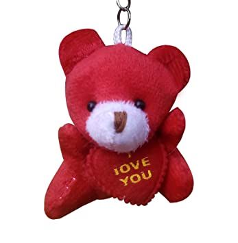 Solidindia Craft Red Teddy Keyring   Keychain  Amazon.in  Bags ... 8800859dce55
