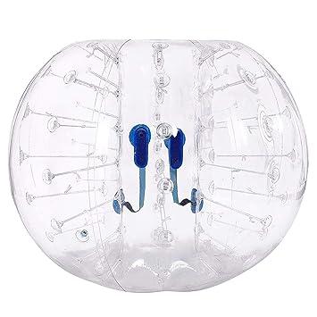 Amazon.com: Ncient - Bola hinchable de burbujas para fútbol ...