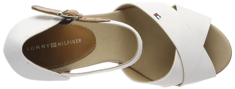 Amazon.com: Tommy Hilfiger Womens Iconic Elena Basic Espadrilles, White (Whisper White 121), 6 UK: Shoes