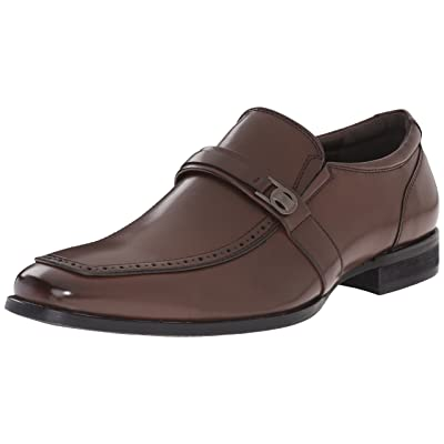 Kenneth Cole Unlisted Men's Pat On The Back Slip-On Loafer, Brown, 11.5 M US | Loafers & Slip-Ons