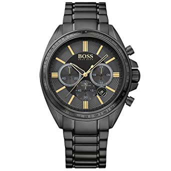 48e00f0e075 Image Unavailable. Image not available for. Color  HUGO BOSS BLACK Mens  Driver Chronograph Watch