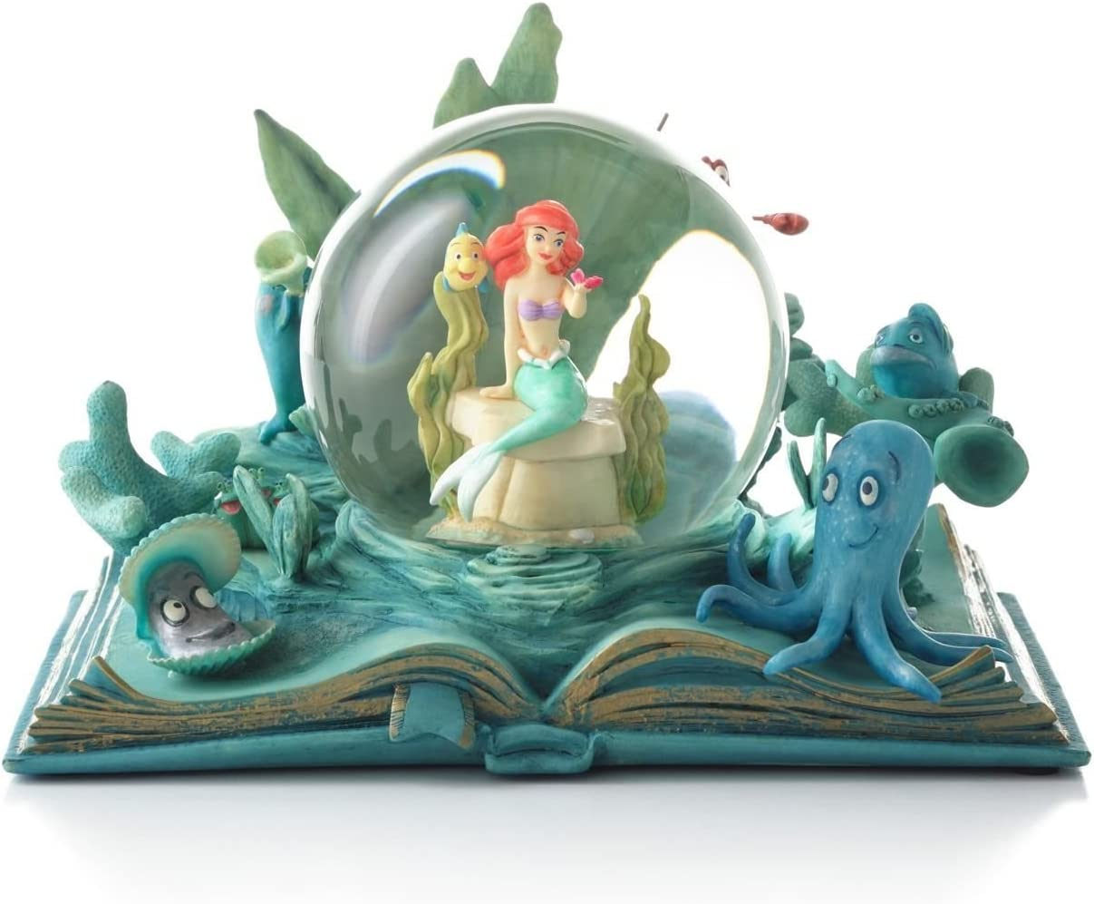 Hallmark Disney Collection CLX2002 Ariel Water Globe