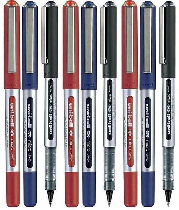 Pack 12-0.7mm Ball Uni-Ball Auge Designer Serie Kugelschreiber UB-157D