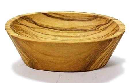 Bio Naturkosmetikshop - Bandeja jabonera (madera de olivo, 9-10 cm)