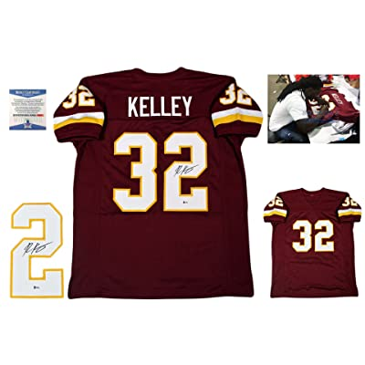 5afe4a515 Rob Kelley Autographed SIGNED Custom Jersey - Beckett Witnessed Authentic -  Burgundy