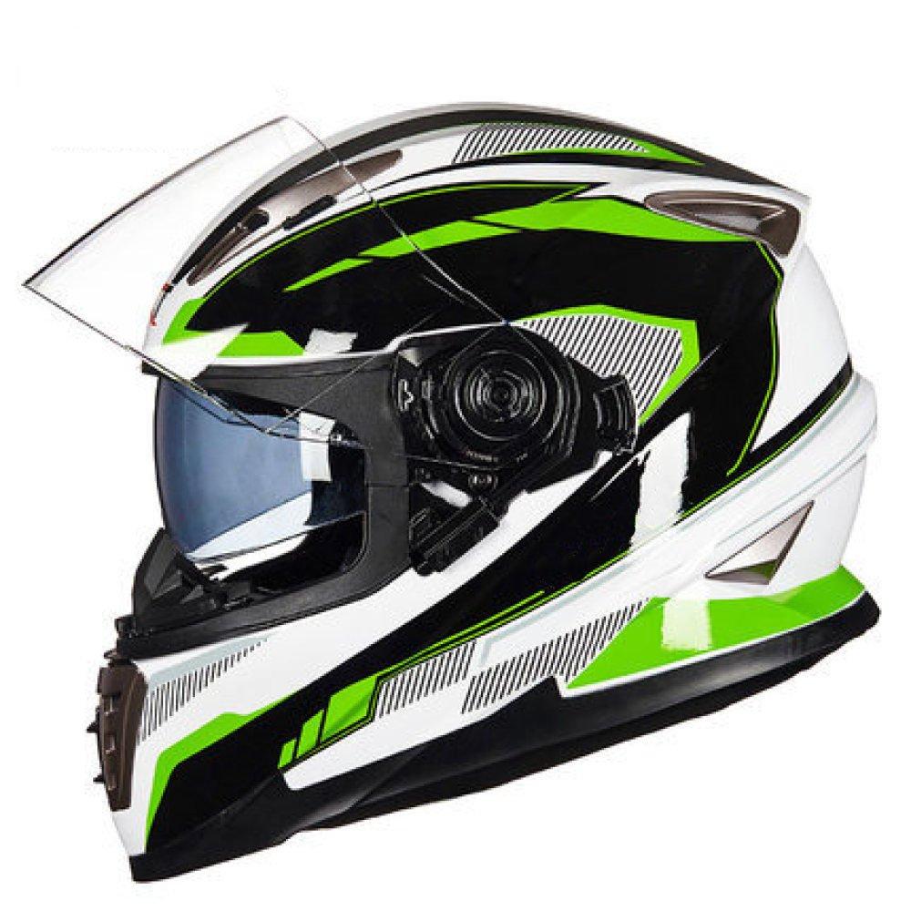 RAQ Sturzhelm im Freienart- und weisehelm ABS-Leichtgewichtler-Motorrad-Fahrrad-Sturzhelm-Sonnenschutzsicherheitsatmungsaktiver vierjahreszeiten-Sturzhelm (Farbe   C, größe   M(54CM-55CM))