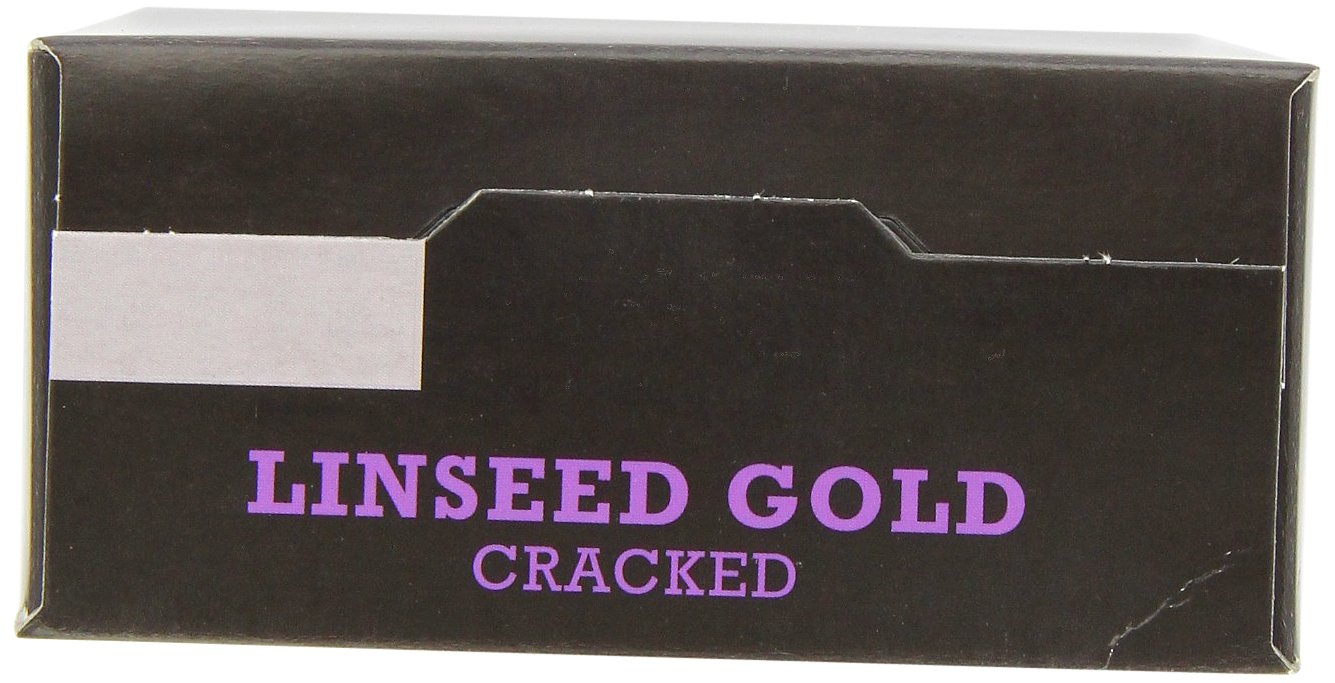 Biona Organic Cracked Linseed Gold 500 g (Pack of 3) by Biona