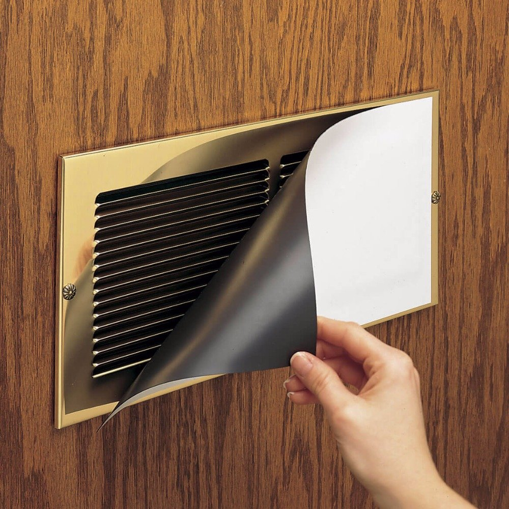 Magnetic Vent Covers 8.5'' x 15'' (3 Pack) Floor and Side Wall Covers for: RV, Home HVAC, AC and Furnace Vents (Not for Ceiling Vents) by Gizmoe Products