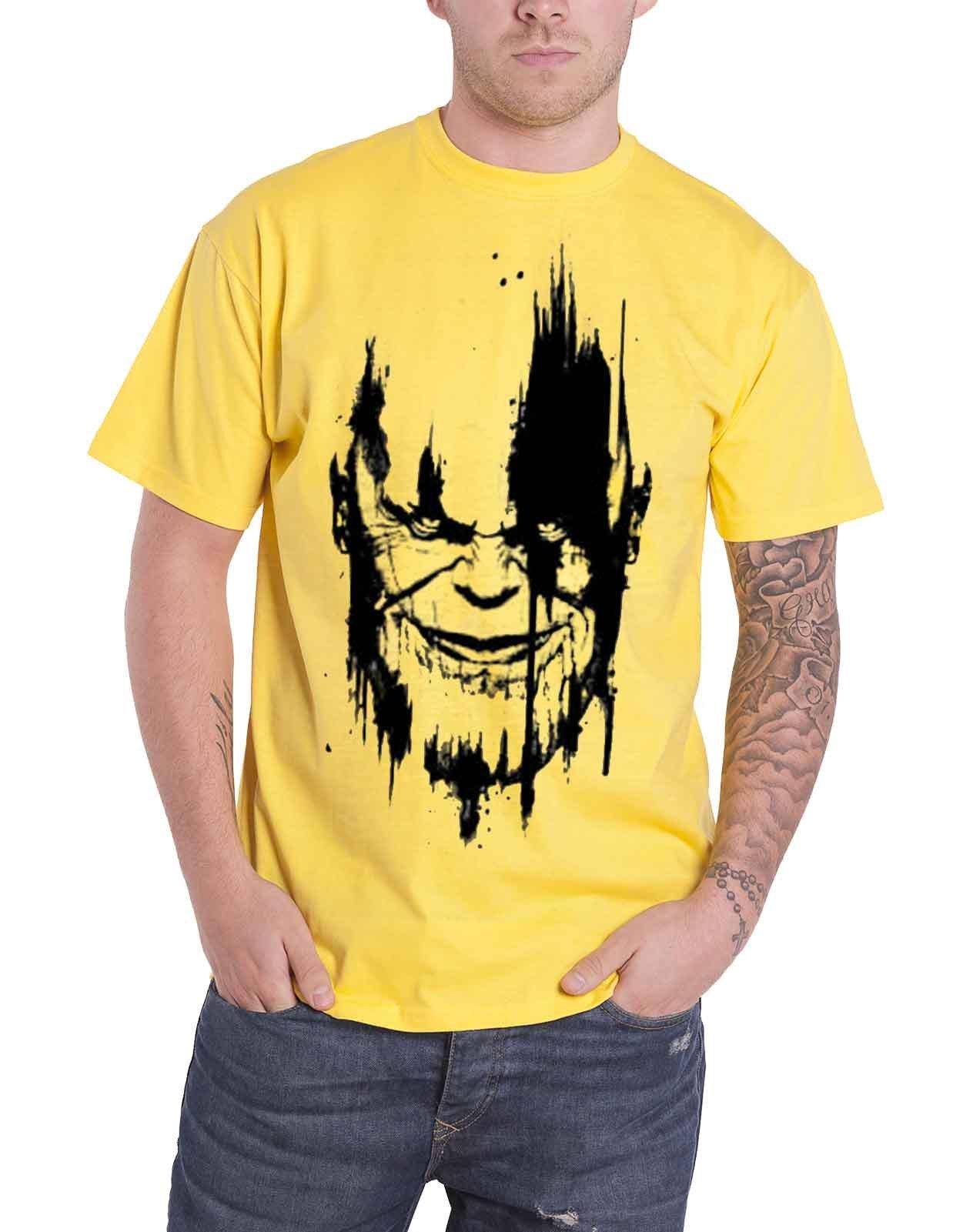 Infinity War T Shirt Infinity War Face S 7433