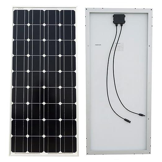 14 opinioni per ECO-WORTHY 100W 12V Pannello Solare Fotovoltaico- 100 Watt 12 Volt