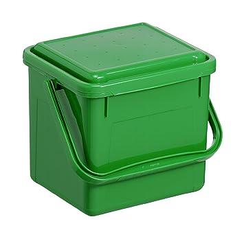 Rotho Komposteimer Bio, Abfallbehälter für die Küche aus Kunststoff ...