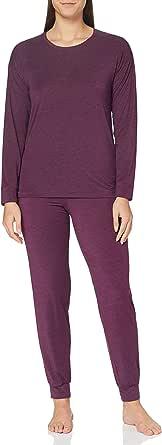 Schiesser Women's Personal Fit Anzug Lang Pajama Set