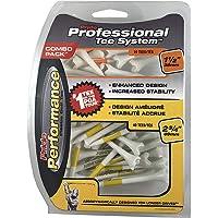 Pride Professional Tee System - Tees de Golf (plástico, 50 Unidades)