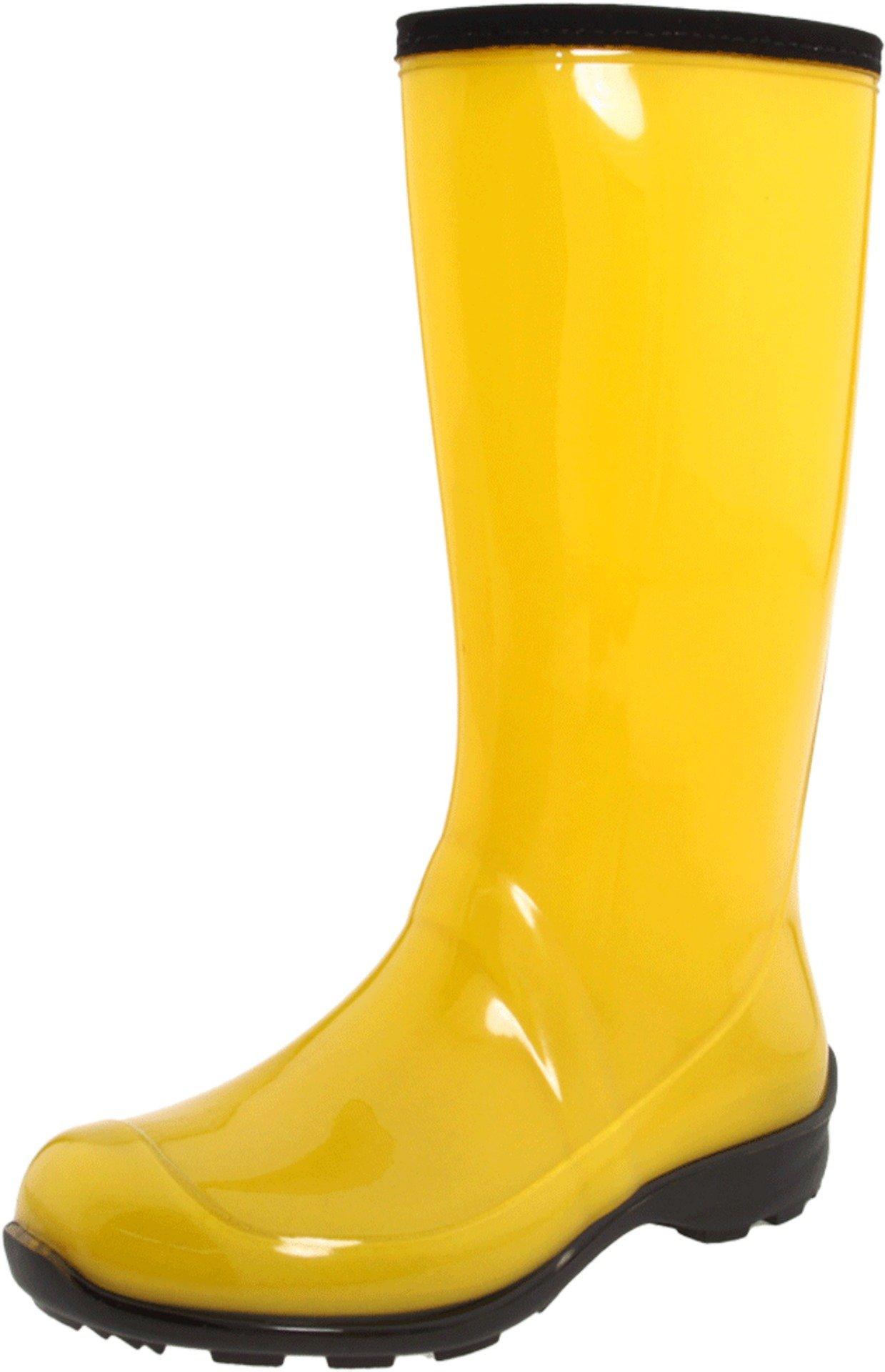 Kamik Women's Heidi Rain Boot,Yellow,7 M US