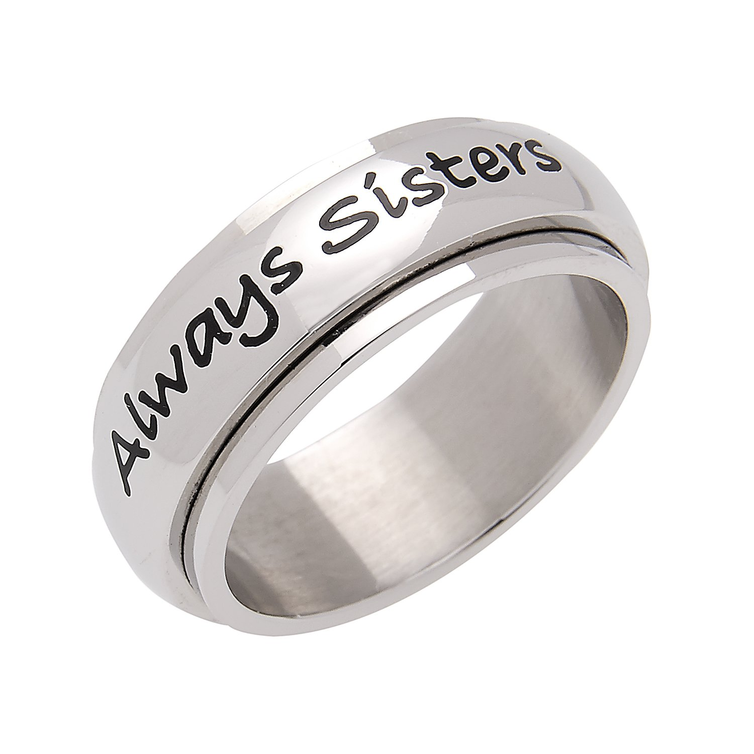 sizes infinity silver engagement friendship rhodium rings plated amazon zirconia com dp forever ring sterling jewelry love cubic slol