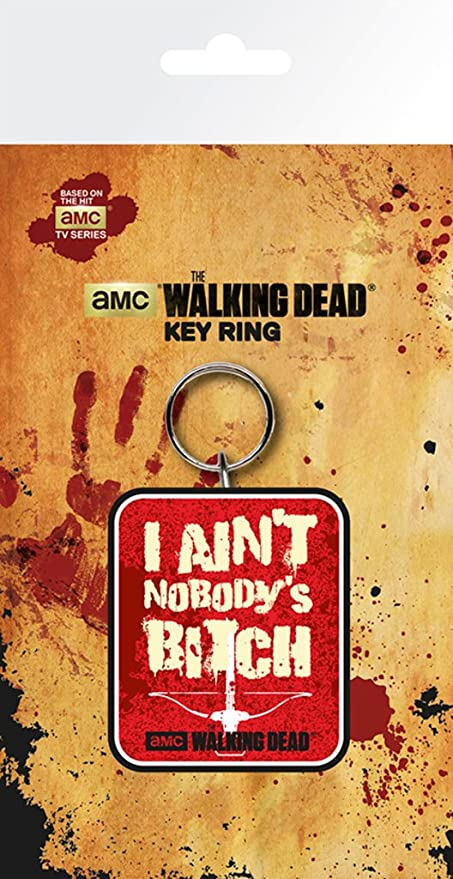 NG Walking Dead - Ballesta - Oficial de Goma Llavero: Amazon ...
