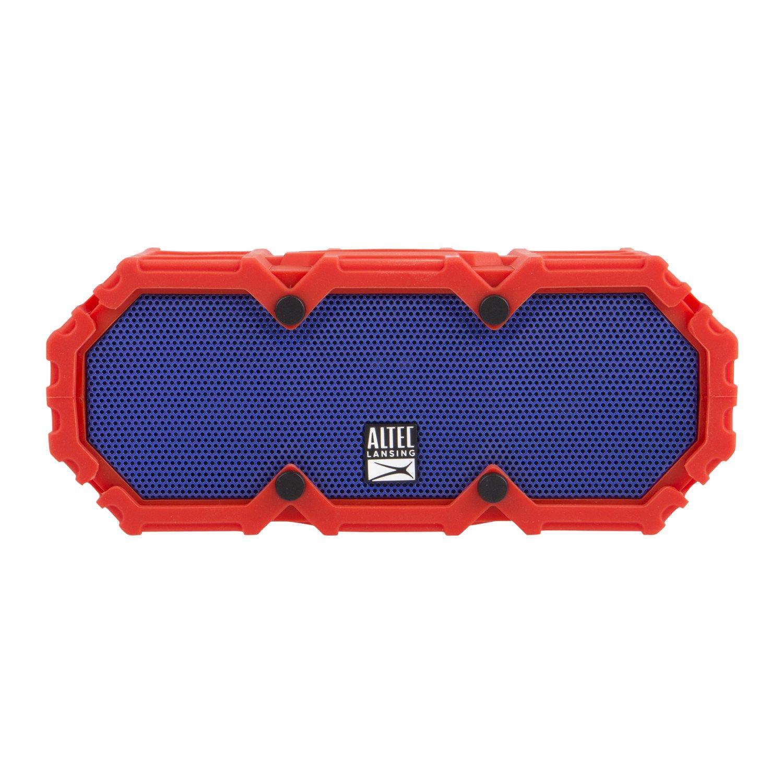 Altec Lansing IMW578 LifeJacket-3 Heavy Duty Rugged Waterproof Bluetooth Wireless Speaker, 50FT Range Extreme Sound Waterproof Speaker, ALL-Weatherproof, Speakerphone, 30 Hour Battery Life