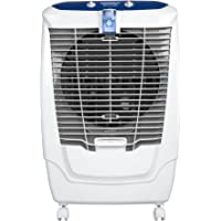 Maharaja Whiteline Atlanto Protect 50 L Air Cooler with Anti Mosquito Technology (White and Blue)