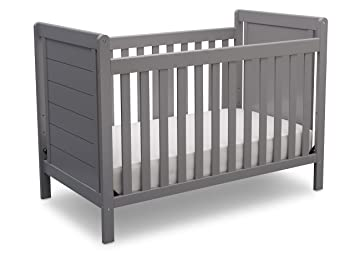Delta Children Sunnyvale 4 In 1 Convertible Crib, Grey