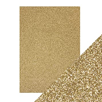 Tonic Studios Cardstock, Pappe, Gold, A4