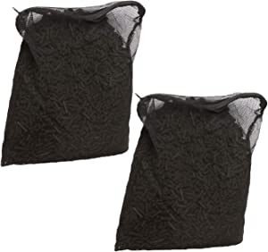 AQUANEAT Activated Carbon for Aquarium Canister Filter Fish Koi Pond in Free Mesh Media Bags (10 lbs, 2 Bags)