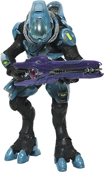 """Halo Ghost Vehicle w// 6/"""" Covenant Elite Officer Action Figure Authentic Design"""