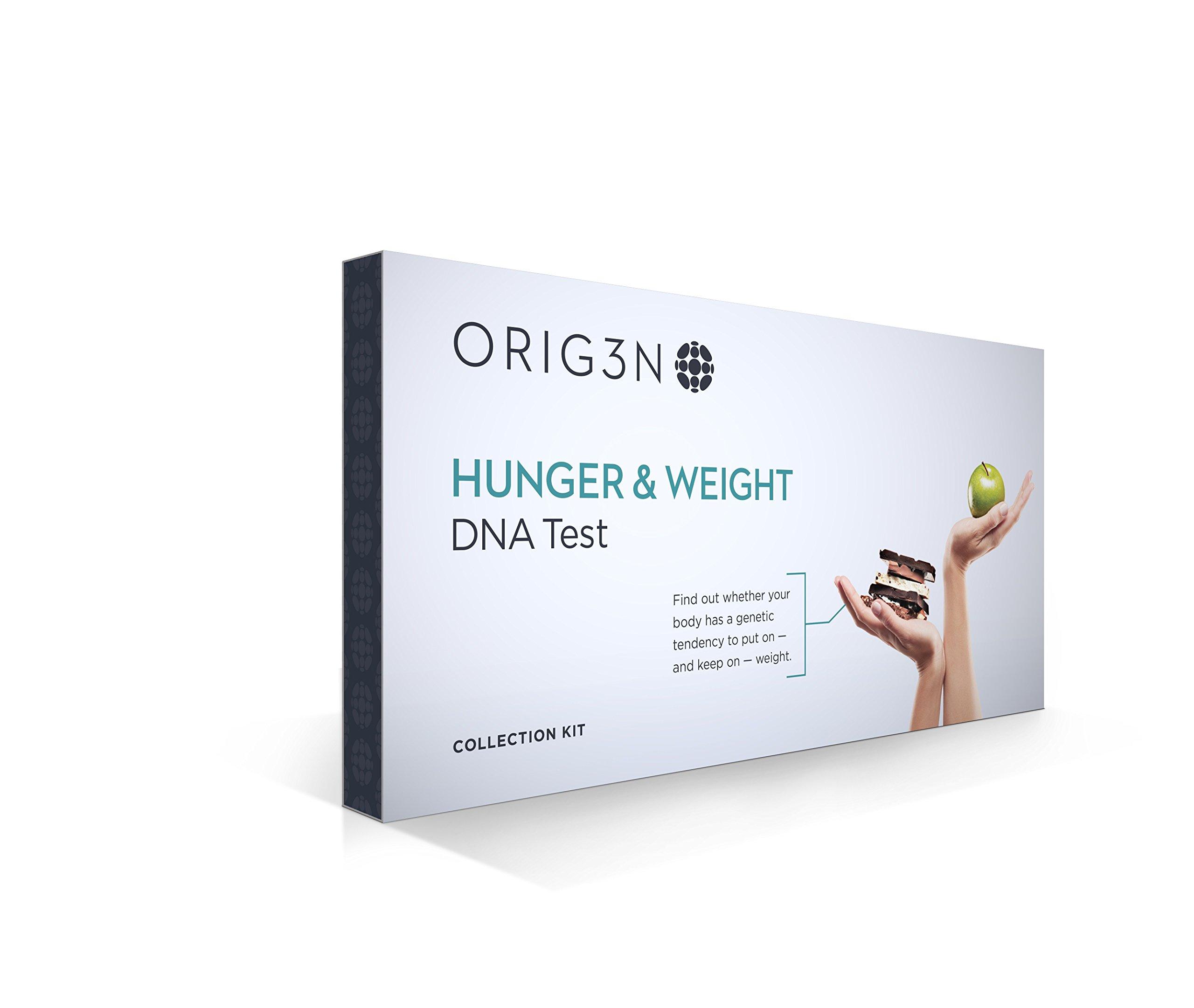 ORIG3N GeneticHome Mini DNA Test Kit, Hunger & Weight