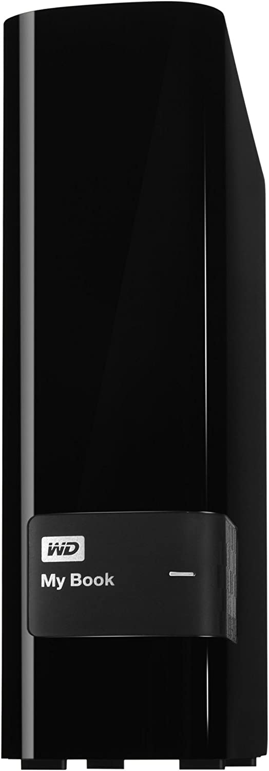 WD 6TB My Book Desktop External Hard Drive - USB 3.0 - WDBFJK0060HBK-NESN,Black